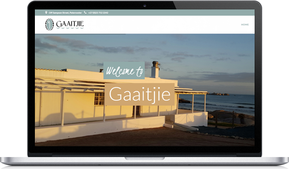Gaaitjie Restaurant Website by Website Design Studio