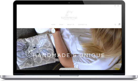 Online store Katoenknop by Website Design Studio
