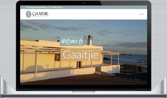 Gaaitjie Restaurant Website by Website Design Studio