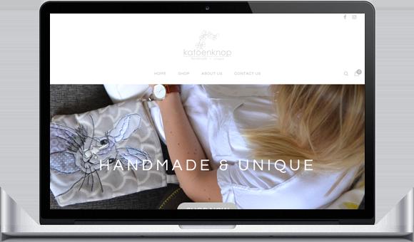 Online store Katoenknop by Website Design Studio
