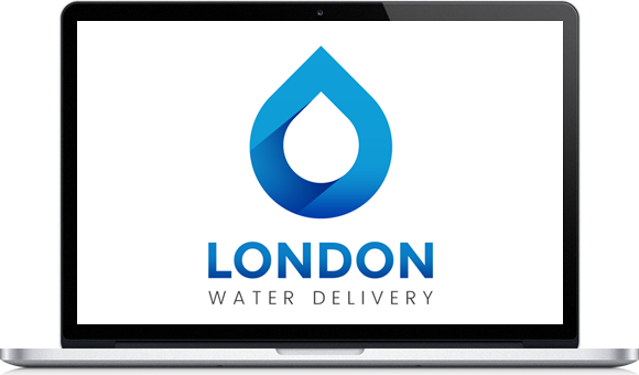 London Water Delivery Logo Design