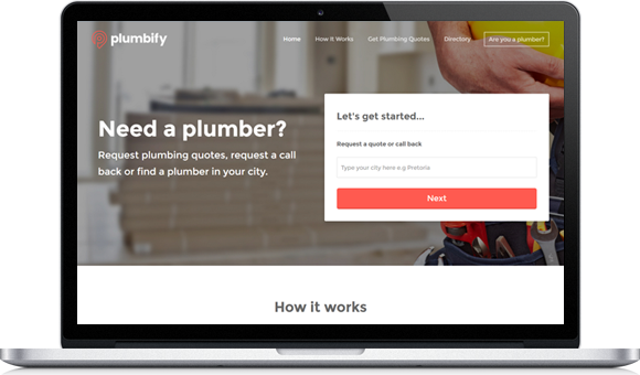Plumbify - Website by Website Design Studio