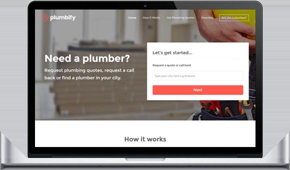Plumbify - Website by Website Design Studio